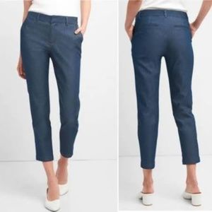 EUC GAP Slim City Crop Denim Pant 14 Regular